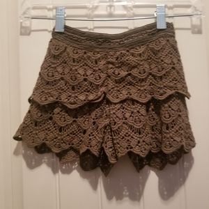 Kids Size 5 Olive Green Justice Shorts